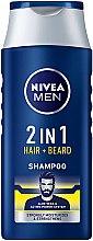 Voňavky, Parfémy, kozmetika Šampón 2 v 1 pre vlasy a bradu - NIVEA Men 2 in 1 Protect & Care Shampoo