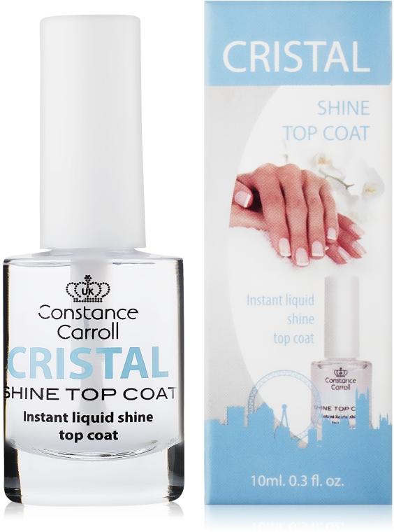 Sušiaci povrchový lak na nechty - Constance Carroll Cristal Shine Top Coat