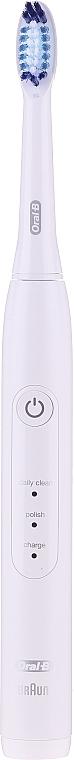 Elektrická zubná kefka - Oral-B Pulsonic Slim One 2200White Travel Edition — Obrázky N2