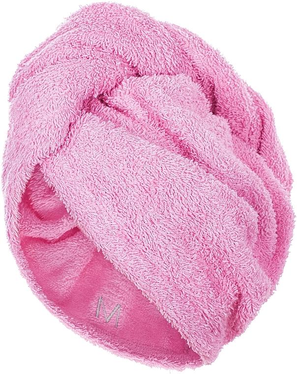 Uterák-turban na vlasy, ružový - MakeUp
