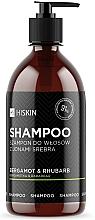 """Voňavky, Parfémy, kozmetika Šampón s iónmi striebra """"Bergamot a rebarbora"""" - HiSkin Bergamot & Rhubarb Shampoo"""