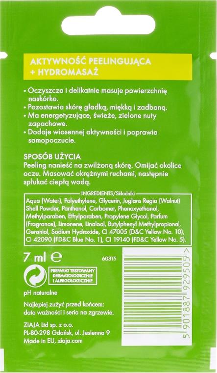 Peeling pre tvár - Ziaja Lime Facial Peeling Refreshing — Obrázky N2