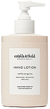 Voňavky, Parfémy, kozmetika Lotion na ruky - Estelle & Thild Vanilla Tangerine Hand Lotion