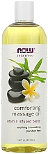 Voňavky, Parfémy, kozmetika Upokojujúci masážny olej - Now Foods Solutions Comforting Massage Oil