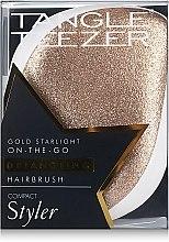 Kompaktná kefa na vlasy - Tangle Teezer Compact Styler Glitter Gold — Obrázky N5