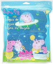 """Voňavky, Parfémy, kozmetika Sada špongi """"Peppa Pig"""" 3ks, kosmos - Suavipiel Peppa Pig Bath Spong"""