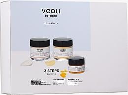 Voňavky, Parfémy, kozmetika Sada - Veoli Botanica 3 Steps Daily Routine (f/cr/60ml + f/cr/60ml + eye/cr/15ml)