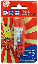 "Voňavky, Parfémy, kozmetika Balzam na pery ""Jahoda a vanilka"" - PEZ Strawberry Vanilla Lip Balm"