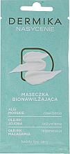 Voňavky, Parfémy, kozmetika Hydratačná maska pre všetky typy pleti - Dermika Plenitude Bio-Moisturizing Mask