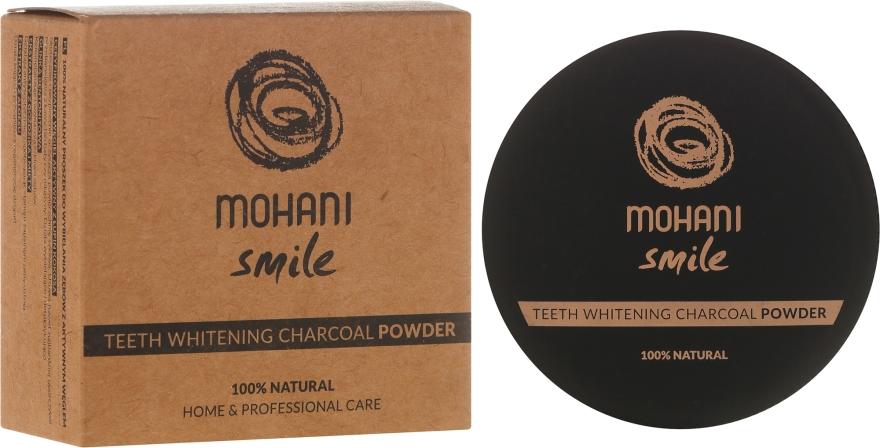 Bieliaci zubný prášok - Mohani Smile Teeth Whitening Charcoal Powder
