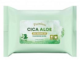 Voňavky, Parfémy, kozmetika Čistiace obrúsky - Premium Cica Aloe Cleansing Wipes