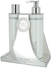 Voňavky, Parfémy, kozmetika Sada - Vivian Gray White Crystals Set (sh/gel/250ml + b/lot/250ml)