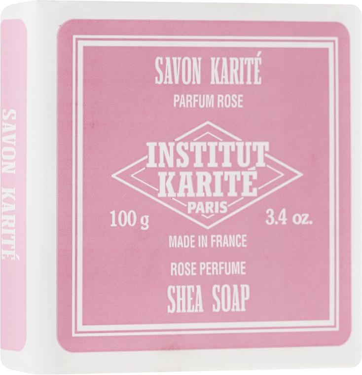 Mydlo - Institut Karite Rose Shea Soap — Obrázky N1