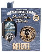 Voňavky, Parfémy, kozmetika Sada - Reuzel Original Scent Beard Try Me Kit (balm/35g + foam/70ml )