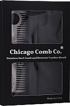 Voňavky, Parfémy, kozmetika Hrebeň na vlasy - Chicago Comb Co Giftbox Model No. 1 RVS + Hoesje