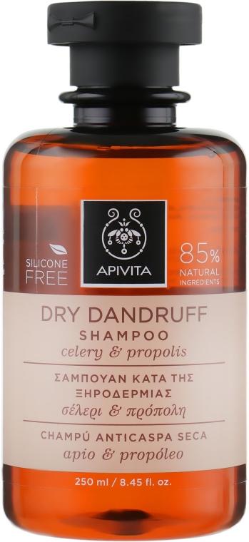 Šampón proti lupinám - Apivita Shampoo For Dry Dandruff With Celery Propolis