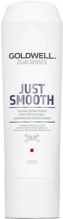 Kondicionér pre nepoddajné vlasy - Goldwell Dualsenses Just Smooth Taming Conditioner