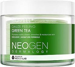 Voňavky, Parfémy, kozmetika Exfoliačné čistiacie vankúšiky so zeleným čajom - Neogen Dermalogy Bio Peel Gauze Peeling Green Tea
