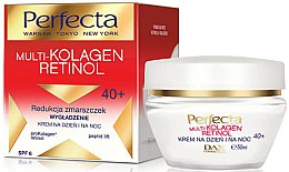 Voňavky, Parfémy, kozmetika Krém na tvár - Dax Cosmetics Perfecta Multi-Collagen Retinol Face Cream 40+