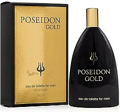 Voňavky, Parfémy, kozmetika Instituto Español Poseidon Gold - Toaletná voda