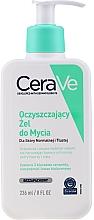 Voňavky, Parfémy, kozmetika Čistiaci gél pre normálnu a mastnú pleť tváre a tela - CeraVe Foaming Cleanser