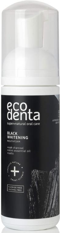Pena na vypláchnutie úst - Ecodenta Black Whitening Mouthfoam