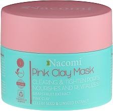 Voňavky, Parfémy, kozmetika Maska s ružovou hlinou - Nacomi Pink Clay Mask