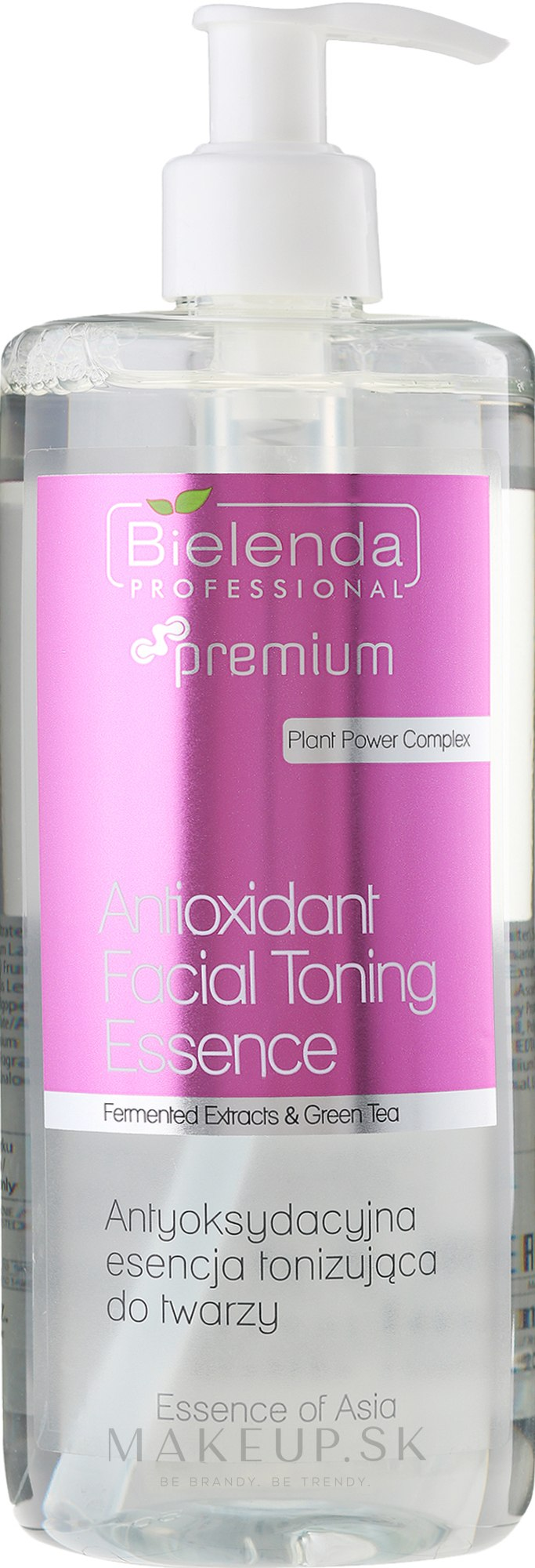 Pleťové tonikum - Bielenda Professional Essence of Asia Tonic — Obrázky 500 ml