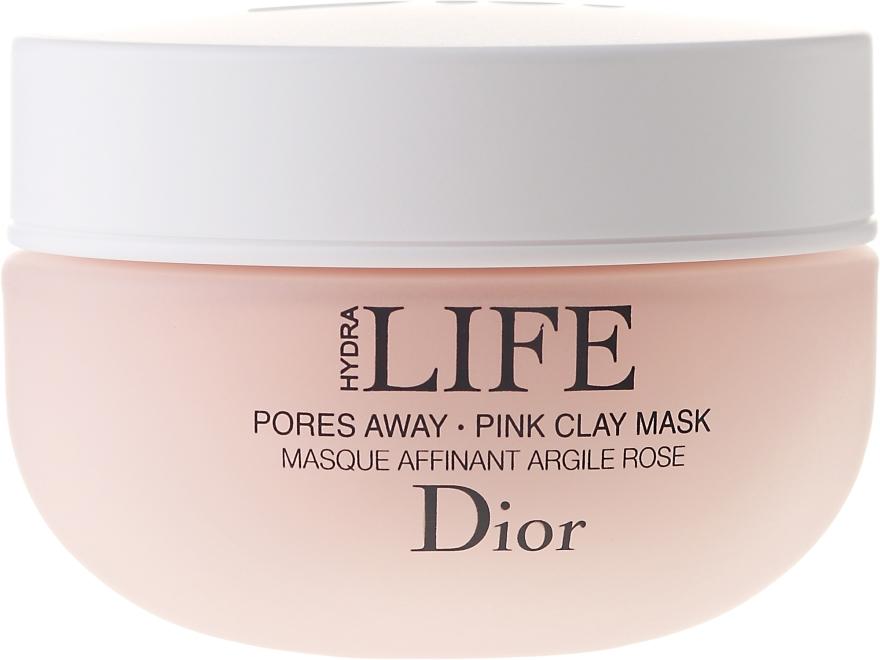 Maska pre zúženie pórov s ružovej hliny - Dior Hydra Life Pores Away Pink Clay Mask — Obrázky N2