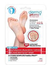 Voňavky, Parfémy, kozmetika Maska-peeling pre nohy - Dermo Pharma Skin Repair Expert S.O.S. Exfoliating & Cell Recovery Foot Mask