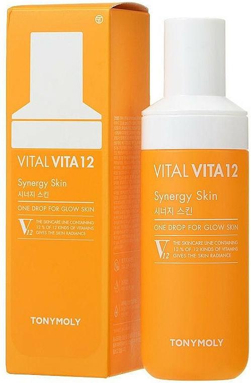 Vitamínové sérum na tvár - Tony Moly Vital Vita 12 Synergy Serum — Obrázky N1