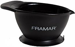 Voňavky, Parfémy, kozmetika Miska na farbenie vlasov s prísavkou, čierna - Framar SureGrip Suction Bowl Black