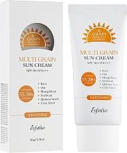 Voňavky, Parfémy, kozmetika Krém s ryžovým extraktom s ochranou pred slnkom - Esfolio Multi Grain Sun Cream SPF 50+/PA+++