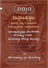 Voňavky, Parfémy, kozmetika Samoopaľovací šál na tvár a telo - Ziaja Cupuacu
