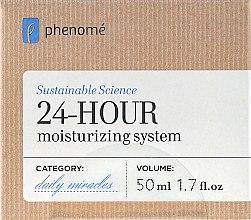 Voňavky, Parfémy, kozmetika Krém na 24 hodín, hydratačný - Phenome 24 Hour Moisturizing System Cream