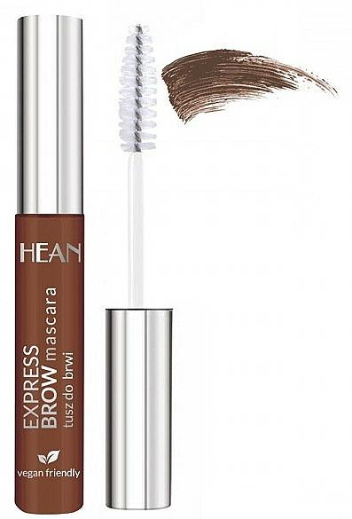 Maskara na obočie - Hean Express Brown Mascara