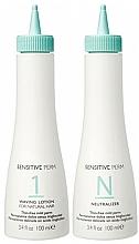 Voňavky, Parfémy, kozmetika Sada - No Inhibition Sensitive Perm (lot/100ml + neutralizer/100ml)