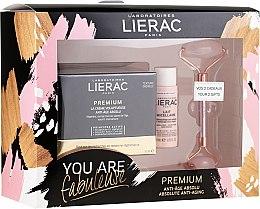 Voňavky, Parfémy, kozmetika Sada - Lierac Premium Anti-Age Absolu Set (f/cr/50ml + f/milk/30ml + roller/1pcs)