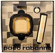 Voňavky, Parfémy, kozmetika Paco Rabanne Lady Million - Sada (edp/50ml + edp/10ml)