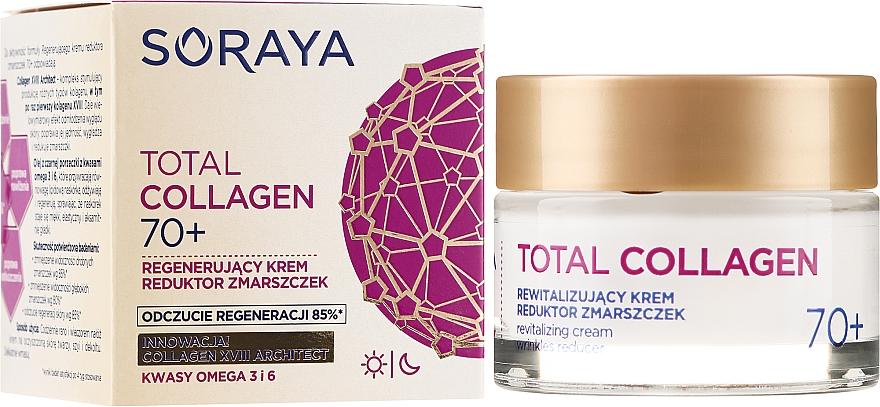Revitalizačný krém proti vráskam denný a nočný 70+ - Soraya Total Collagen 70+