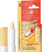"Voňavky, Parfémy, kozmetika Balzam na pery ""Banánová pena"" - Eveline Cosmetics Lip Therapy Smoothing Balm Banana Mousse"