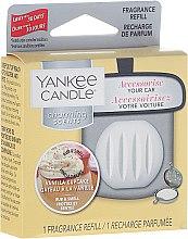 Voňavky, Parfémy, kozmetika Osviežovače vzduchu automobilový (výmenný blok) - Yankee Candle Charming Scents Refill Vanilla Cupcake