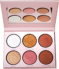 Voňavky, Parfémy, kozmetika Paleta rozjasňovačov - LP Makeup L'Essentiel Paper Highlight Palette