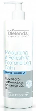 Hydratačný a osviežujúci balzam na nohy a chodidlá - Bielenda Professional Foot Program