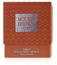 Voňavky, Parfémy, kozmetika Molton Brown Gingerlily Single Wick Candle - Sviečka s 1 knôtom