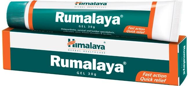 Gél-analgetikum proti bolesti svalov a kĺbov - Himalaya Herbals Rumalaya Gel