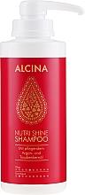 Voňavky, Parfémy, kozmetika Výživný šampón na vlasy - Alcina Nutri Shine Oil Shampoo