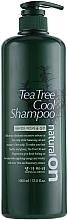 Voňavky, Parfémy, kozmetika Chladiaci šampón na báze čajovníka - Daeng Gi Meo Ri Naturalon Tea Tree Cool Shampoo
