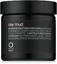 Voňavky, Parfémy, kozmetika Hlina na vlasy s extra silnou fixáciou - Oway Man Raw Mud