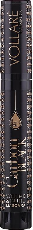 Objemová maskara s argánovým olejom - Vollare Cosmetics Carbon Black